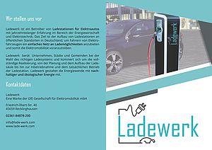 Unser Flyer über unsere Ladesäulen-Leistungen